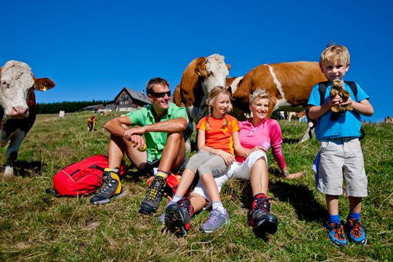 Wanderungen mit Kindern in Berchtesgaden