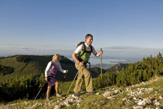 Wandern und Nordic Walking