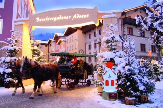 Pfedekutschenfahrt in Berchtesgaden