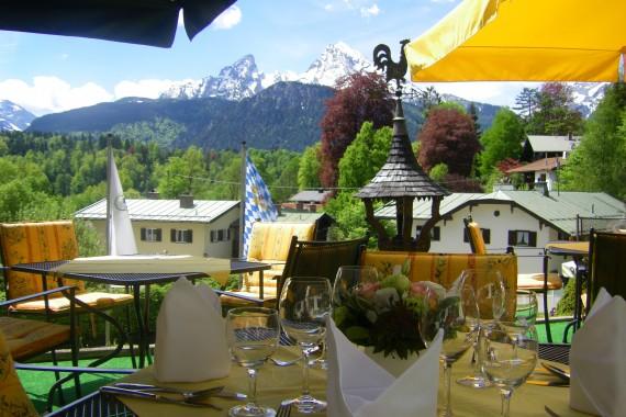Terrasse Hotel Kronprinz